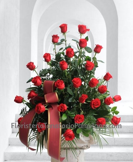 flores urgentes para el Tanatorio de Pamplona, Envio de flores para difuntos en Pamplona, Centros de flores para entierros en Pamplona
