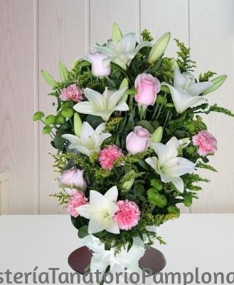 Flores de Condolencias para Tanatorio, Enviar Flores de Condolencia