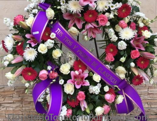 Cintas funerarias para tanatorios de Pamplona